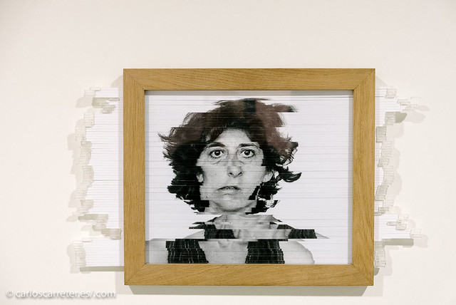 Autoportrait aleatoire - Esther Ferrer