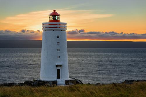 sunset lighthouse iceland hdr viti vatnsnes miðfjörður skarðsviti