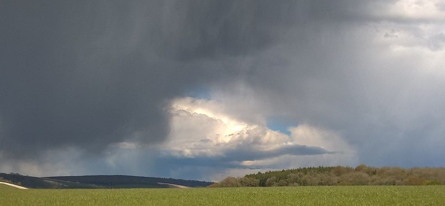 Trouble brewing over the South Downs