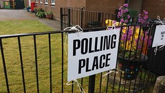 Bridge of Allan Polling Station, Polling Day, 5th May 2016