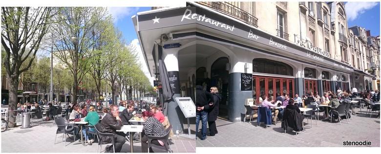 panorama of Le Gaulois restaurant
