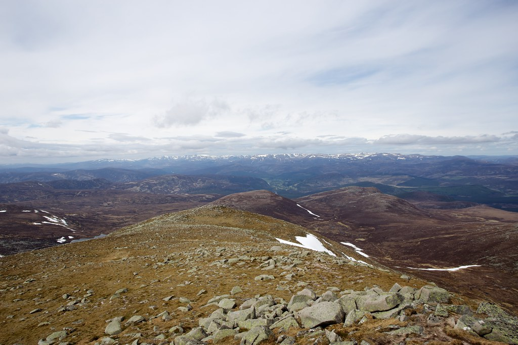 Cairngorms from Lochnagar