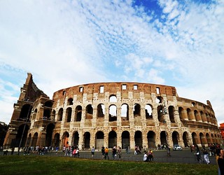 Image of Colosseum. italy square europe lofi eu squareformat iphoneography instagramapp uploaded:by=instagram italy2016