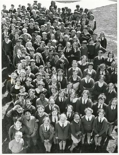 <p>Title:<br /> Children<br /> <br /> Publicity Caption:<br /> Children at the Wainuiomata Intermediate School, Wellington Province<br /> <br /> Photographer:<br /> R Coad (R24803503)<br /> <br /> September 1970<br /> <br /> Reference: R24803503 AAQT 6539 W3537 106 / A94815</p>