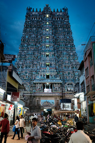 """MADURAI from the book """"Journey toward the Cradle of Mankind (1912)"""" by Guido Gozzano"""