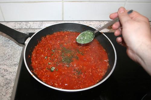29 - Italienische Kräuter hinzufügen / Add italian herbs