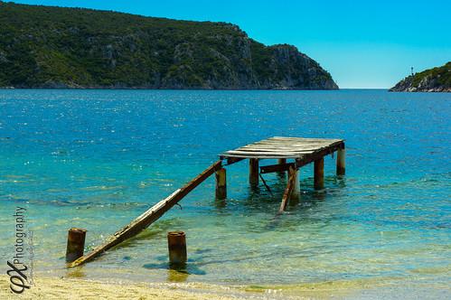 travel blue sea mer beach spring mediterranean greece gr grèce chalkidiki sonya7 makedoniathraki