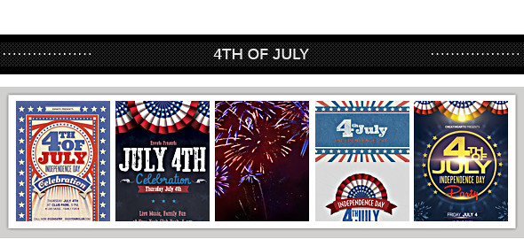 July 4th Backgrounds/ Cards 2