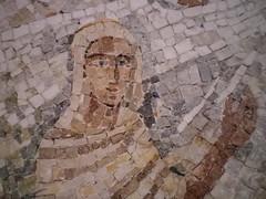 Mosaic at Abbaye Saint-Maurice