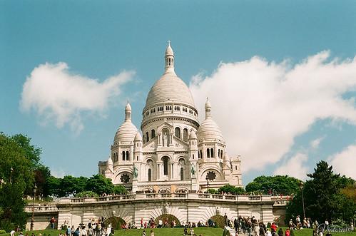 Basilique du Sacré Cœur. Paris. France