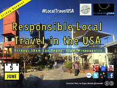 June 5 World Environment Day Responsible Local Travel in the USA Hangout #localtravelusa