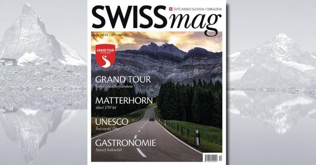 SWISSmag č. 12 - jar/leto 2015