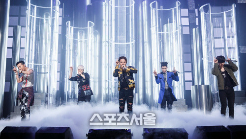 Big Bang - Mnet M!Countdown - 07may2015 - Sports Seoul - 01