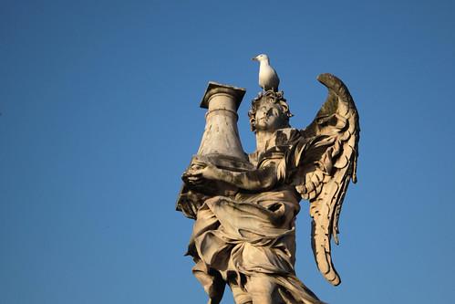 Bernini-Engel auf der Engelsbrücke
