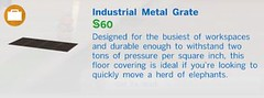 Industrial Metal Grate