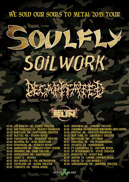 Soulfly at the Ottobar