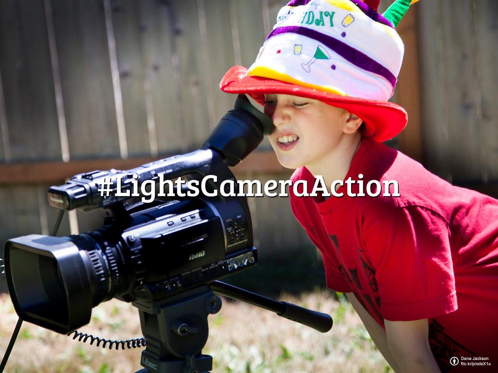 Flickr Friday: Lights, Camera, Action