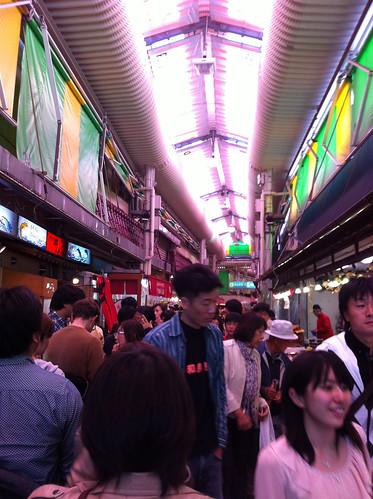 Kanazawa fish market, Omi-cho