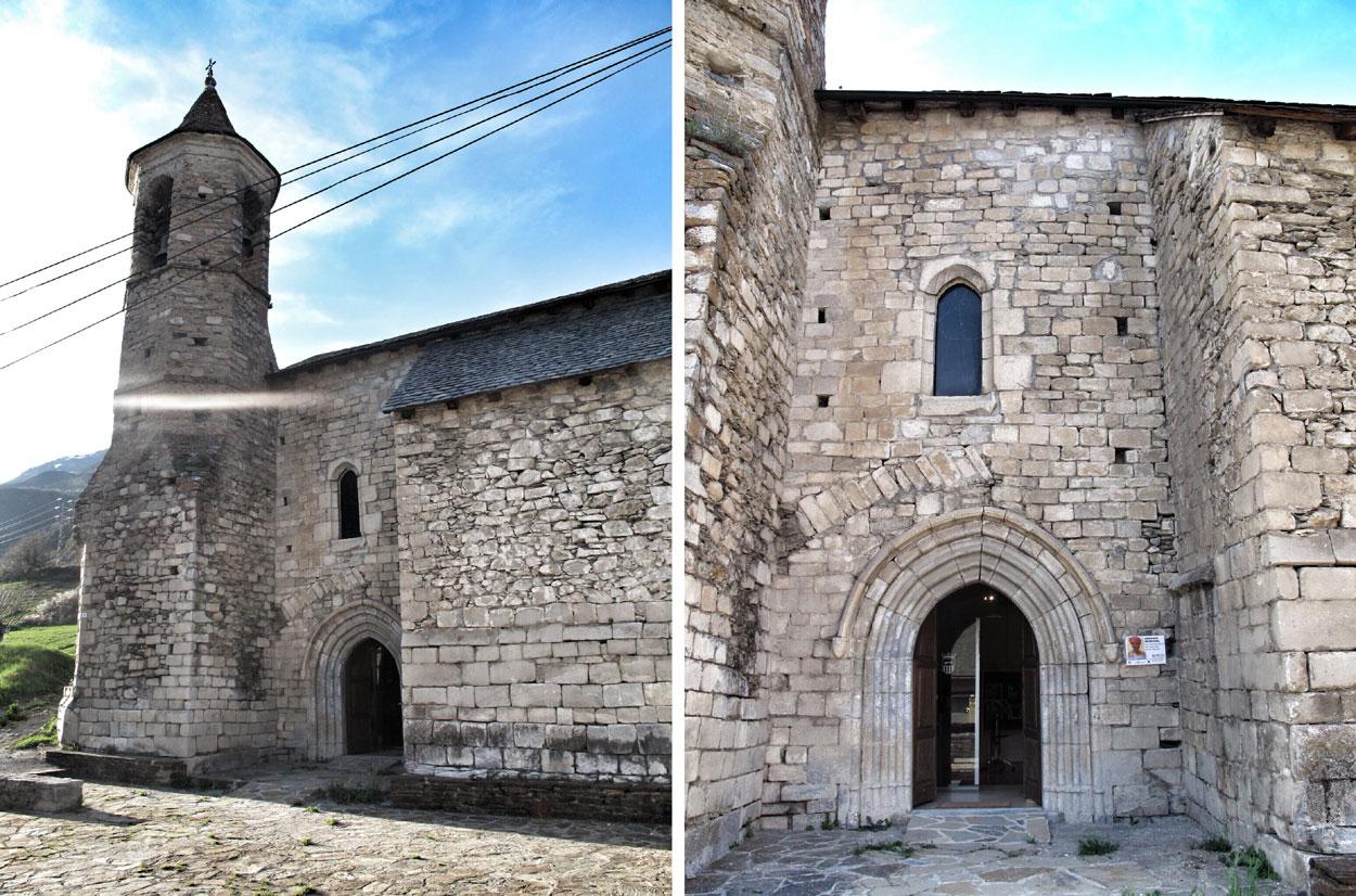 Iglesia de Sant Joan d'Arties (Val d'Aran)_siglo XIII_romanica_gotica