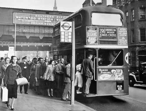 London Transport KLB619 Year 1952