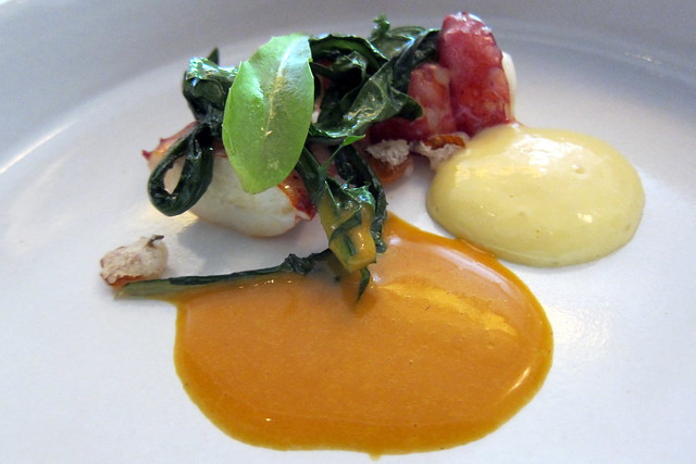 NYC - Eleven Madison Park: Poached Lobster | Flickr ...