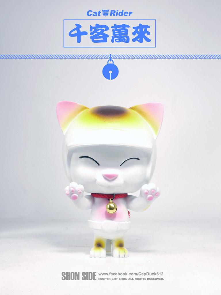 SHON SIDE【招財貓騎士】LUCKY CAT RIDER  幸福財運滾滾來!!