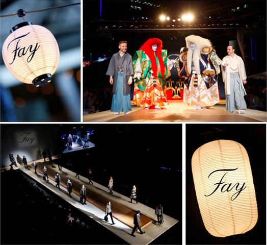 Fay Fashion Theatre Japón