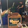 Irish farmer's market includes suitably Irish ingredients and approach, at Temple Bar Market.