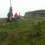 Phil and Colin on Ger Tor