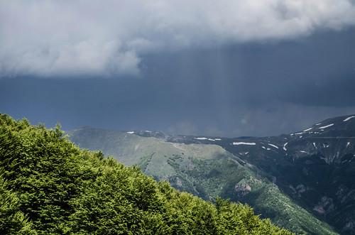 sky cloud mountain storm mountains clouds landscape nikon outdoor hiking hill explore macedonia showers d5100 deshat nikond5100