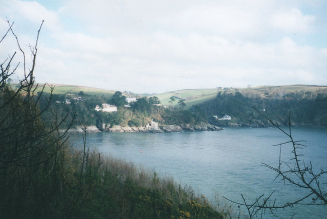 The mouth of the River Dart from Dartmouth