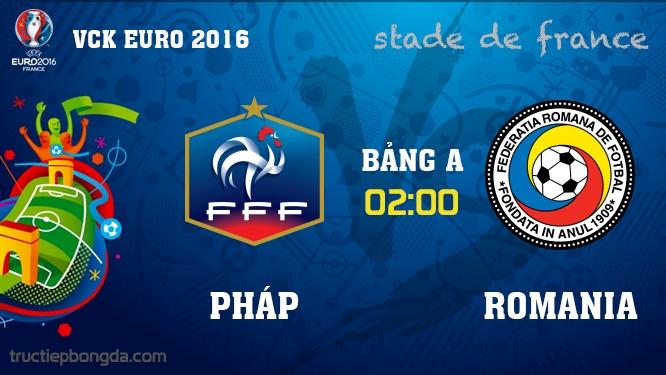 Pháp vs Romania