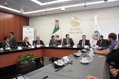 El día 10 de agosto del 2016 se llevó a cabo en el Senado de la República la Firma del Convenio Marco de Colaboración entre el Senado de la República y el Fideicomiso Centro Histórico Ciudad de México.