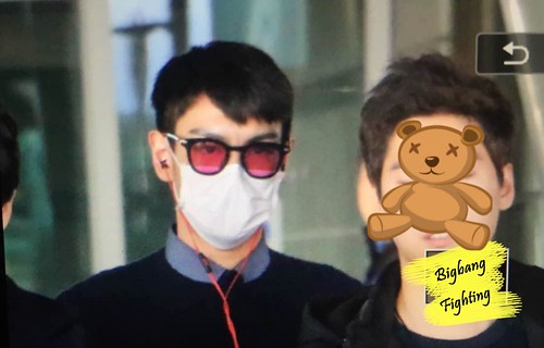 Big Bang - Incheon Airport - 07dec2015 - BigbangFighting - 09