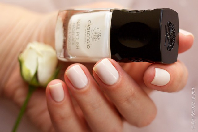 03 Alessandro Nail Polish   Milky Dream