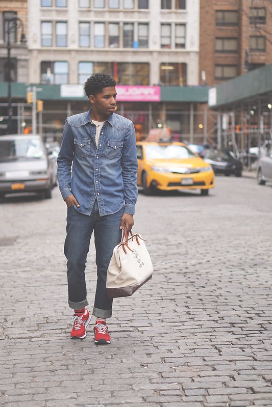 Double Denim Trend Menswear