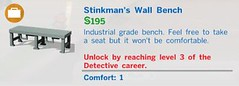 Stinkmans Wall Bench
