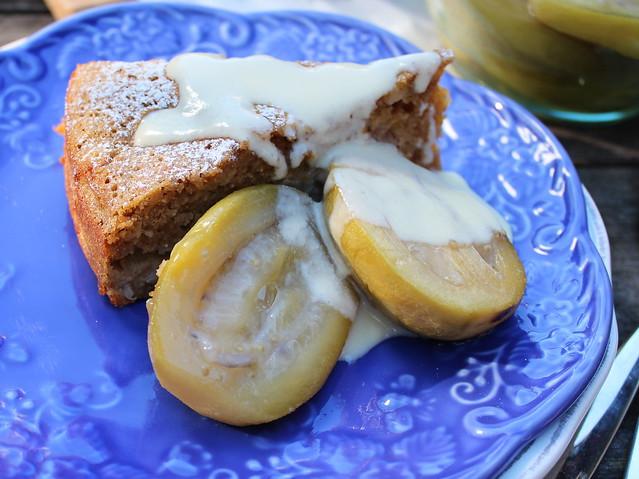 Wholemeal Feijoa & Ginger Cake