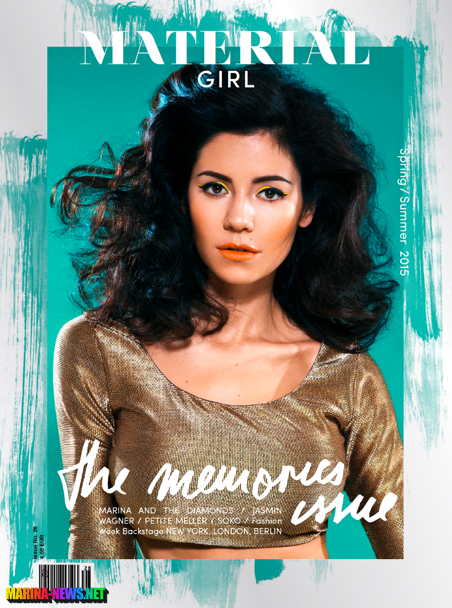 Marina and the Diamonds - Material Girl Mag