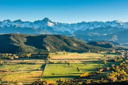 usa landscape colorado unitedstates northamerica ridgway