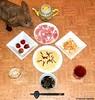 Seara (sea rabbit).  Photograph by Dr. Takeshi Yamada. 20120903 032. spaghetti, Japasoumen style. ham. chicken salad. strawberries