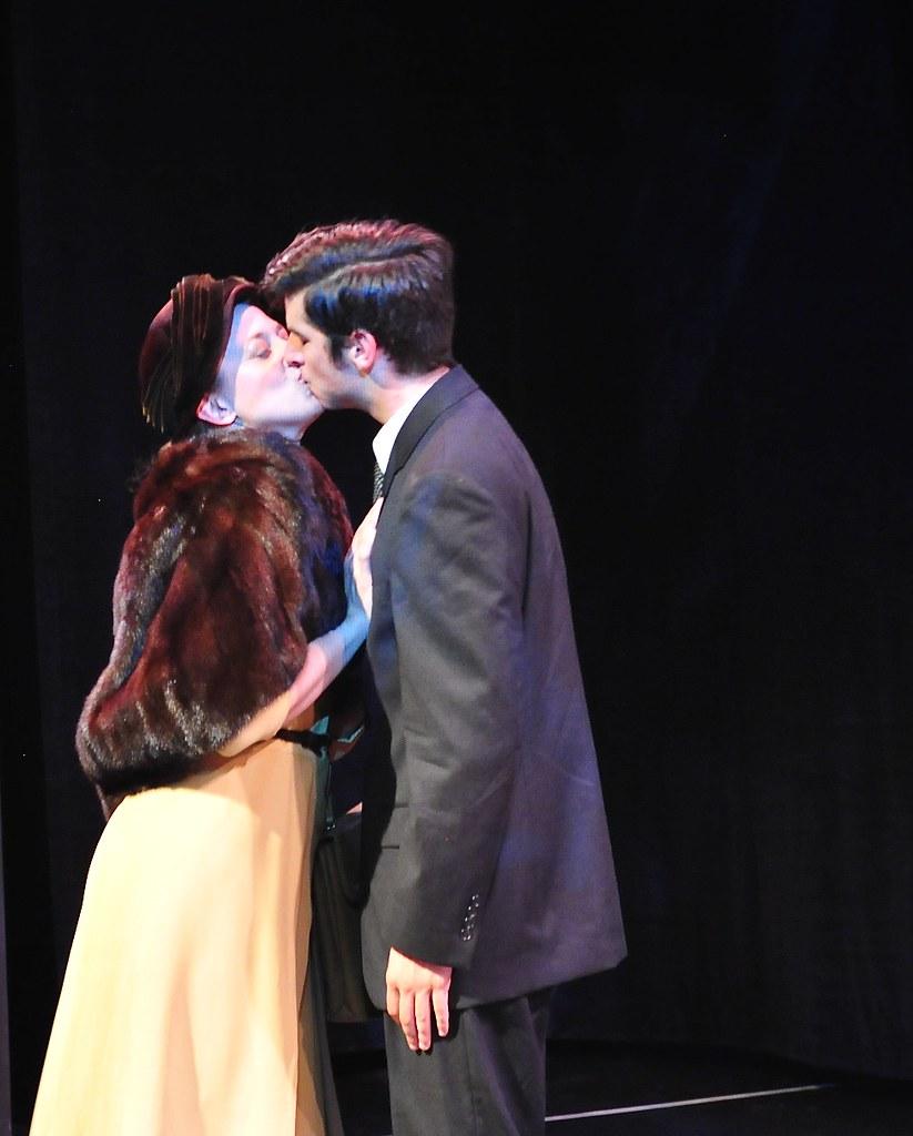 <p>Morganne Davies as Felice and Matthew Payne as Franz<br /> <br /> Photo by Valentine Radev</p>