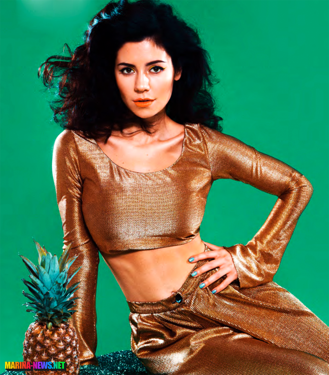 Marina and the Diamonds for Attitude Magazine