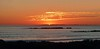 Sunset over Robben Island, Cape Town, South Africa