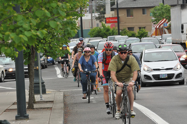 Bike traffic on N Williams Ave-2.jpg