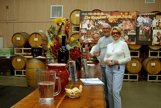 Raising a glass at Opolo Winery