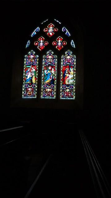 Buriton Church South Window