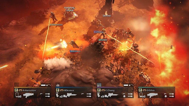 HELLDIVERS Turn Up The Heat today on PS4, PS3 and PS Vita: Adds Volcanic Planets, New Enemies and Objectives