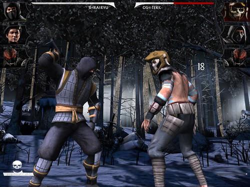 เล่นเกม Mortal Kombat X บน Samsung Galaxy Tab A 9.7