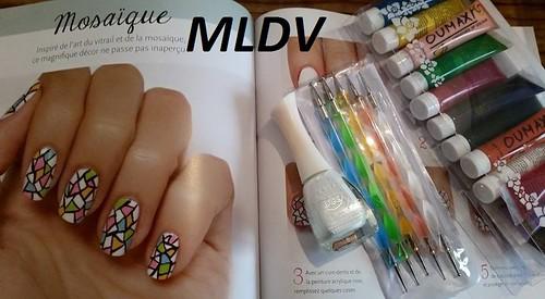 nail art Mosaïque